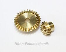 Engrenage conique en Laiton, Module 0,8, 15/30 Dents, 1 Paire