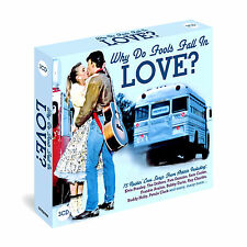 WHY DO FOOLS FALL IN LOVE ~ 75 ROCKIN LOVE SONGS NEW AND SEALED 3 CD BOX SET