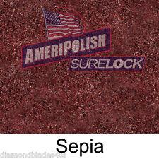 1 GL. Sepia CONCRETE COLOR DYE FOR CEMENT, STAIN AMERIPOLISH Surelock color