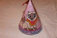SAGWA THE CHINESE  SIAMESE CAT~~ 8 -BIRTHDAY PARTY HATS  PARTY SUPPLIES
