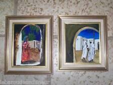 paire de tableaux orientalistes milieu 20èmes