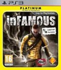 inFAMOUS PLATINUM VERY RARE GAME Sony Playstation 3 PS PS3