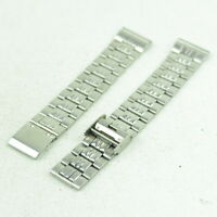 A332 Vintage Mens Adjustable Stainless Steel Watch Band Bracelet 18mm 45.1