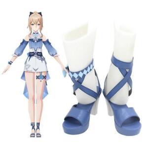 Game Genshin Impact Jean Cosplay Shoes Women Swimsuit High Heels Halloween Heels