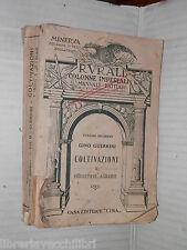RURALI COLONNE IMPERIALI COLTIVAZIONI INDUSTRIE AGRARIE Gino Guerrini Etna 1939