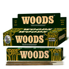 WOODS INCENSE STICKS PREMIUM NATURAL OIL HANDCRAFTED JOSS AGARBATTI CYCLE BRAND