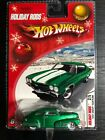 Hot Wheels 2005 Holiday Rods 1947 Chevy Fleetline Green White Wall Real Riders
