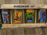 Marvel 4 Pack Pint Glasses