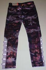 New Justice Girls 14 16 yr Metallic Purple Camo  Athletic Leggings Active