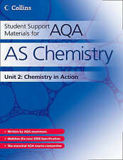 Student Support Materials for AQA: AS Chemistry Unit 2: Chemistry in Action...