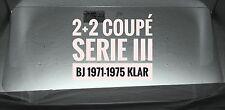 JAGUAR E-Type Serie III Coupé 2+2 Bj. 1971 - 75 Windschutzscheibe klar