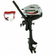 Mariner F3.5ML 4-Stroke Outboard 3.5 HP Long Shaft Boat Engine