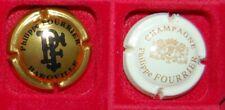2 Plaque de muselet de champagne Philippe Fourrier
