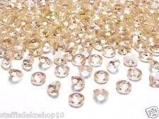 SiDeSo® 100 DEKOSTEINE DIAMANTEN 1,2cm 12mm Tischdeko Streudeko Hochzeit Deko