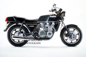 Kawasaki Z1300 1979 motorcycle image factory press photograph photo