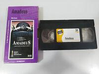 AMADEUS CINTA TAPE VHS COLECCIONISTA MILOS FORMAN