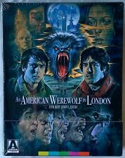 New An American Werewolf In London Limited Edition Blu Ray Arrow Video + Poster