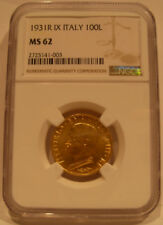 Monedas de oro MS 62