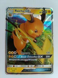 Carte pokemon raichu gx 20/68 destinées occultes vf neuve