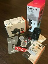 Sony ZV-1 20.1 MP Compact Digital Camera w/ Vlogger Accessory Kit - Black , Used