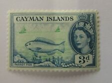 c1950 Cayman Islands SC #141 PARROT FISH  MH stamp