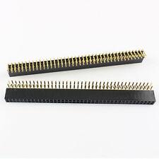 15 piezas de 2 X 40 Pin 2 mm pitch Ángulo Recto Macho tira de encabezado para Conectores IC