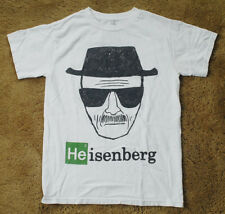 BREAKING BAD Walter White HEISENBERG white t shirt short sleeve size S