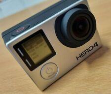 GoPro Hero 4 Black + MEGA Zubehörpaket Display, Halterungen,  Actioncam, Kamera