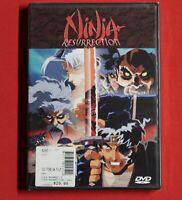 Ninja Resurrection Revenge of Jubei/Hell's Spawn (DVD,1999) BRAND NEW DVD