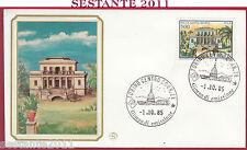 ITALIA FDC FILAGRANO VILLE VILLA SANTA MARIA CAPO PULA CA 1985 TORINO Y905