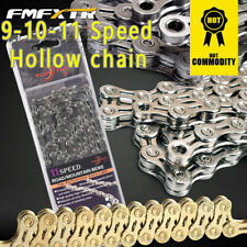 Bicycle Hollow Chain 9 10 11 Speed Gear Mountain Bike Road Hybrid Cycle Links
