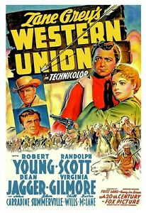 Western Union 1941-16mm Feature Film- Western Dir. Fritz Lang  Robert Young