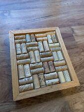 Custom Wine Cork Board Upcycled Framed  Various Types
