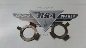 BSA C15 B40 B44 B50 TR25W NOS BSA CLUTCH CENTRE TAB LOCK WASHERS X2 40-3221