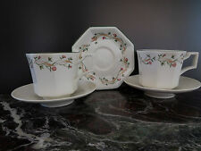 tasses Guy Degrenne porcelaine art nouveau design XXème Italie CERAMIC by PN