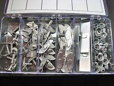 96 pcs moulding trim clips & nuts assortment  AMC Studebaker