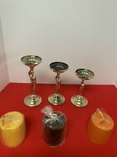 Nu-Trend Candles Set With Original Box New / Old Stock