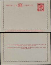 SOUTH WEST AFRICA 1923 KG5 STATIONERY LETTERCARD ENGLISH OPT...MINT
