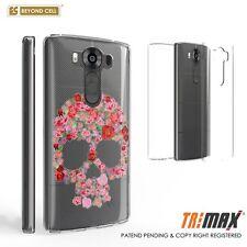 Beyond Cell Tri Max For LG V10 Pink Flower Skull