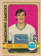 HOCKEY CARD NHL 1972-73 BOBBY SCHMAUTZ  VANCOUVER CANUCKS  OPC  #101