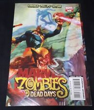 MARVEL ZOMBIES 1 DEAD DAYS ONE SHOT NM X MEN 1 HOMAGE SUYDAM NOT 2 3 4