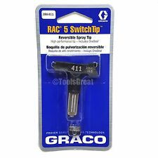 Graco Rac 5 286411 Switch Tip Paint Spray Tip Size 411