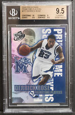 2008 press pass Prime Time Players Derrick Rose bgs 9.5 rookie insert