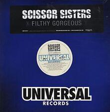 "SCISSOR SISTERS Filthy Gorgeous 3 mixes Us Dj 12"""