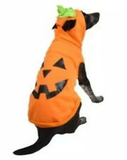 Hyde and Eek Orange Pumpkin Dog Pet Costume XS Hoodie Sweatshirt NEW