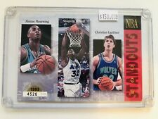 1993 Upper Deck Authenticated Rare Large NBA Multi Rookies Basketball Card