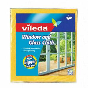 Original Vileda Window & Glass Cleaning Cloth Clean Streak Free Finish New