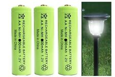 AA Rechargeable Solar Light Batteries 1.2v 900mAh AA NiMH - Very Latest New Type