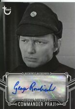 Star Wars Black & White A New Hope Autograph George Roubicek