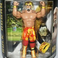 WWE Classic Superstars 11 HULK HOGAN Wrestling Action Figure Jakks Pacific WWF
